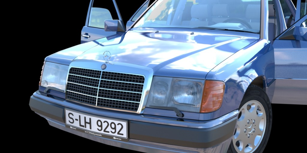 Mercedes-Benz W124 300D 1992 preview image 8