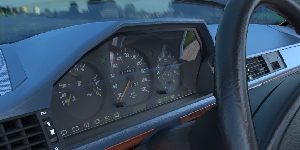Mercedes-Benz W124 300D 1992 preview image 6