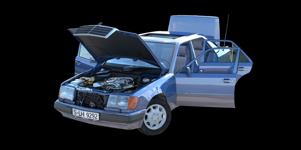 Mercedes-Benz W124 300D 1992 preview image 4