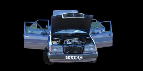 Mercedes-Benz W124 300D 1992 preview image