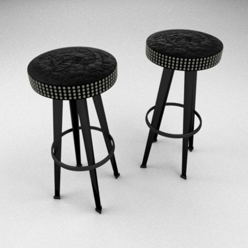 Diesel Bar Stud Stool by Moroso preview image