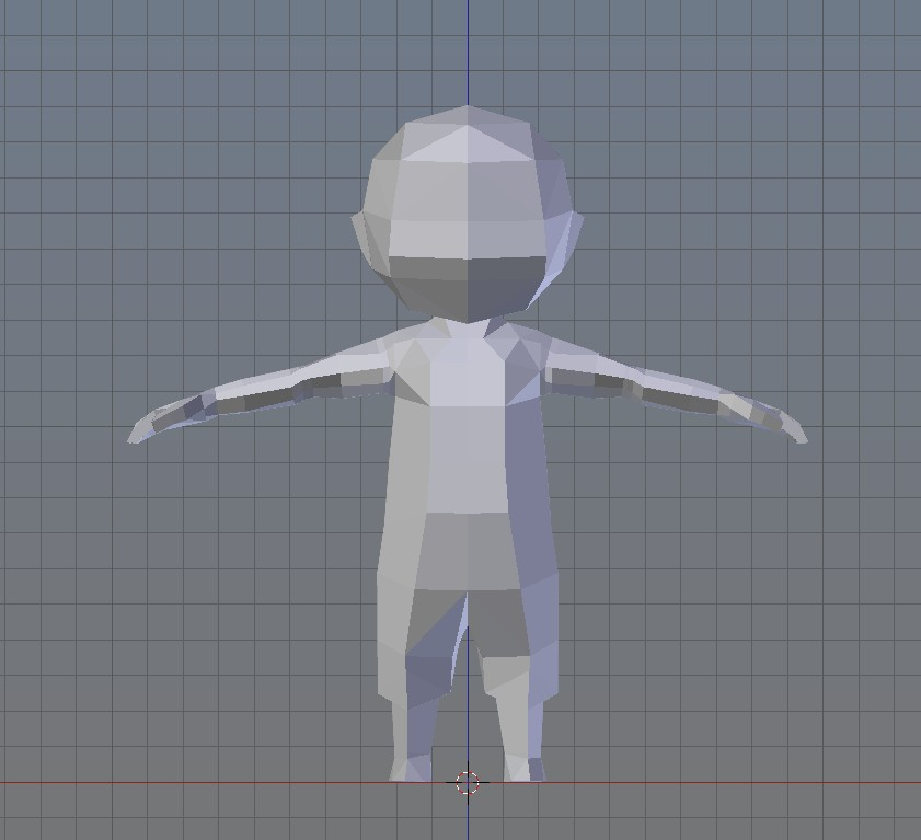 Unnamed low poly character preview image 3
