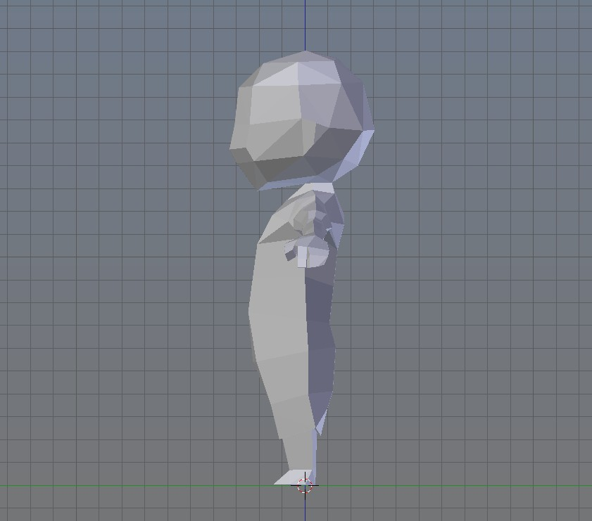 Unnamed low poly character preview image 4