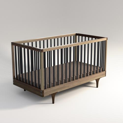 Baby bed, inspired by Kalon Caravan Crib preview image