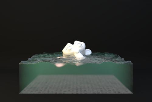 Procedural Water Shader preview image