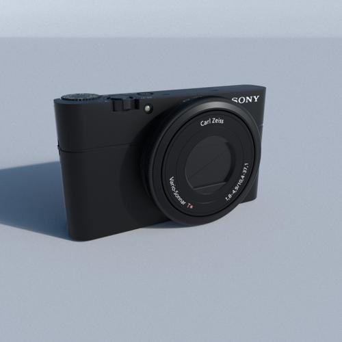 Sony DSC 100RX digital camera preview image