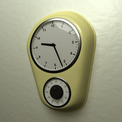 Kitchen clock preview image