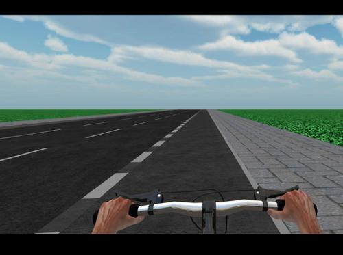 First Person Bicycle (Rigged/Animated) preview image