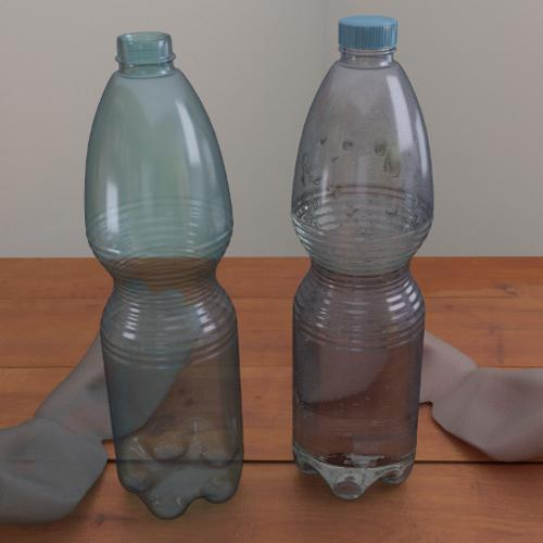 Plastic bottle - mineral water preview image