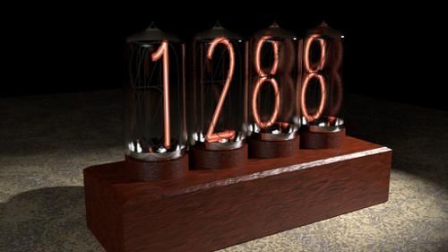 Nixie Display preview image