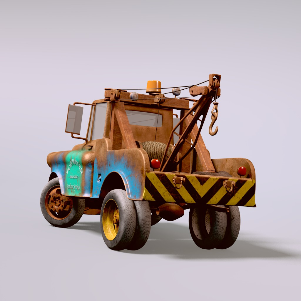 TOW MATER from CARS preview image 3