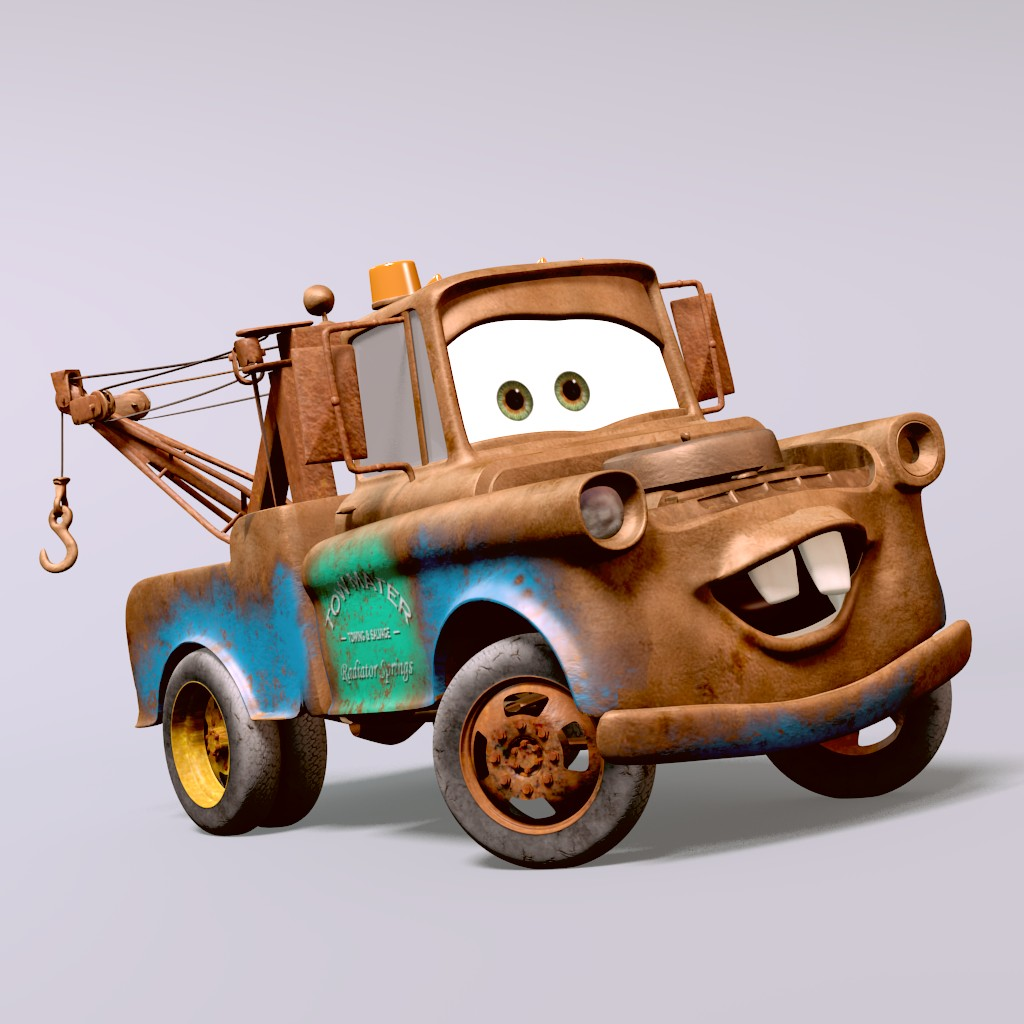 TOW MATER from CARS preview image 1