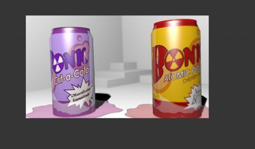 Tf2 Bonk! Atomic Punch and Crit-A-Cola w/ DOF preview image