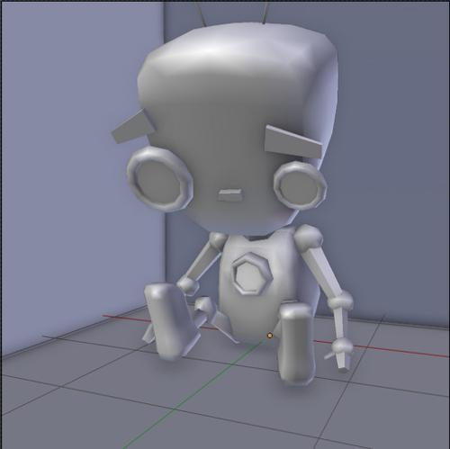 "Low Poly Robot ""Appi"" preview image"