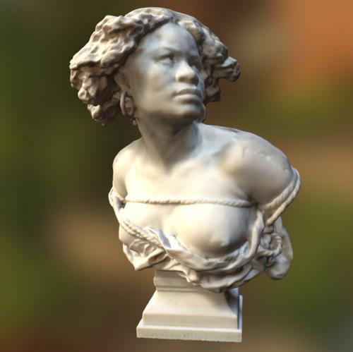 bust of female slave preview image