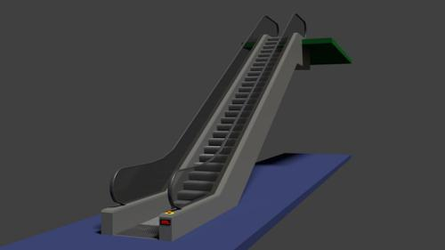 Simple Escalator (Rolltreppe) preview image