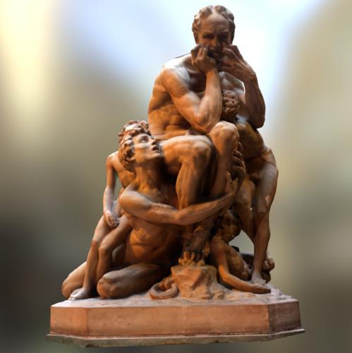 Ugolino and his sons preview image