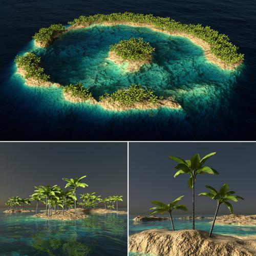 Lagoon, Atoll, Reef - ver.1 preview image