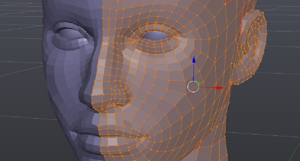 Female head preview image 1