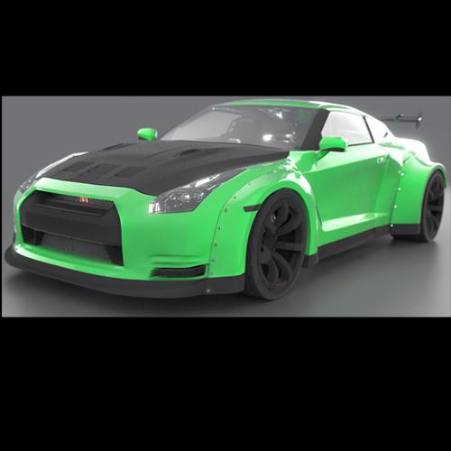 Wide Body Nissan GTR preview image