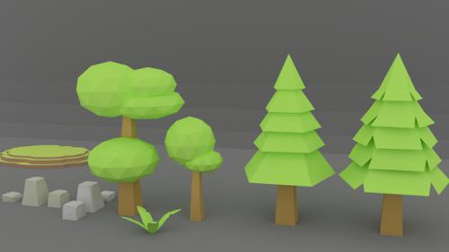 Simple Trees+Etras preview image