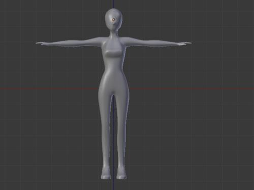 Female body base preview image