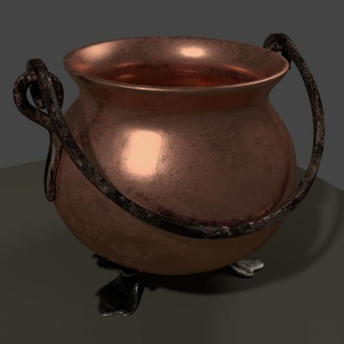 Copper pot preview image