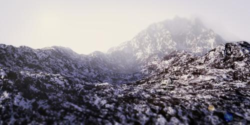 Realistic Snowy Mountain preview image