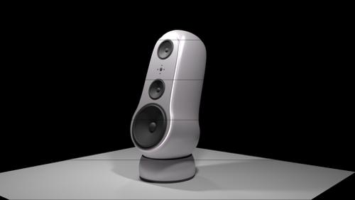 Furturistic, High Quality Audio Speakers preview image