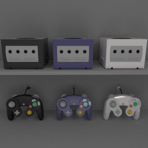 Nintendo Gamecube with controller preview image