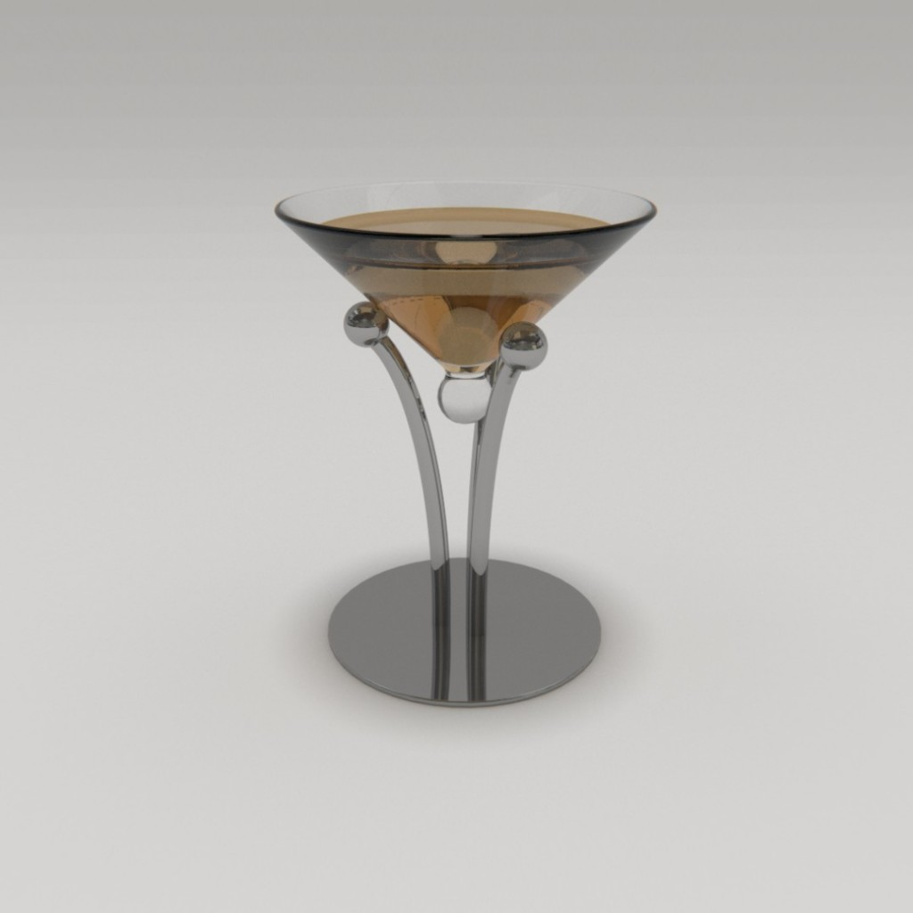 Cocktail glass design preview image 1