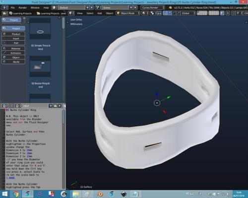 3D Printing Learning Projects- Jewellery Projects Rings preview image