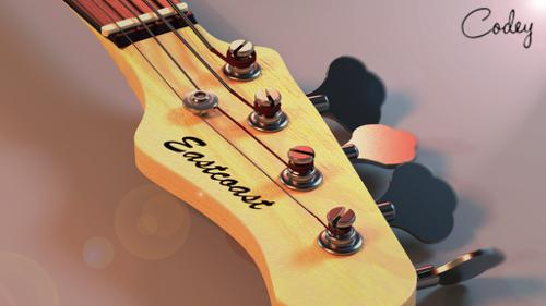 Eastcoast Bass Guitar [High Poly] preview image
