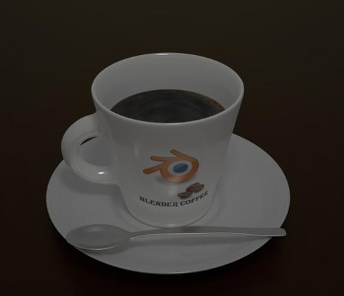 Blender coffee cap preview image