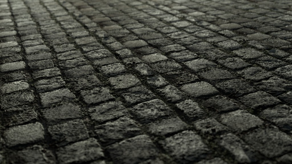 Seamless Cobblestone Texture preview image 1