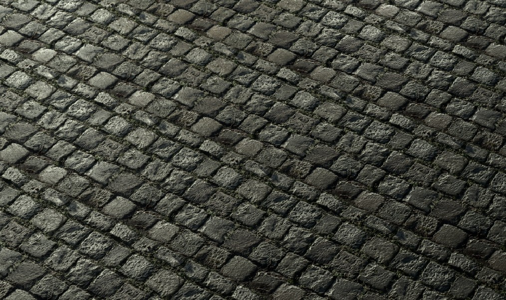 Seamless Cobblestone Texture preview image 2