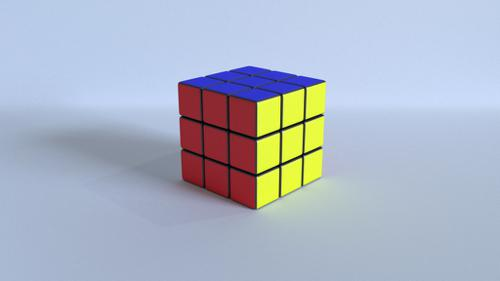 Simple Rubik's Cube preview image