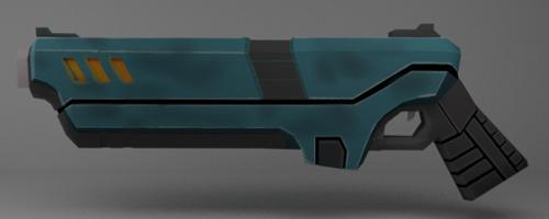 Sci-Fi Pistol preview image
