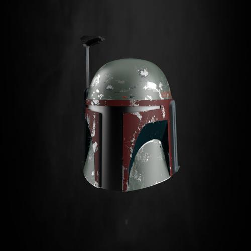 "Star Wars Bounty hunter ""Boba Fett"" Mandalorian Helmet preview image"