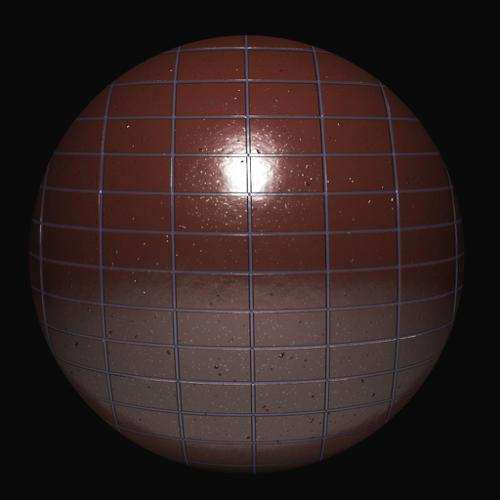 Procedural wet bathroom faience( also contains wood texture ) preview image