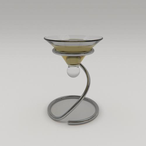 Champagne glass design (for new year celebration etc.) preview image