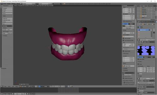 Simple Human Teeth preview image