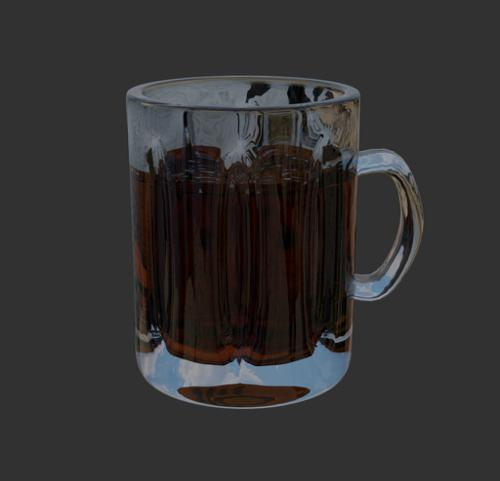 Beer mug with fluid correction preview image