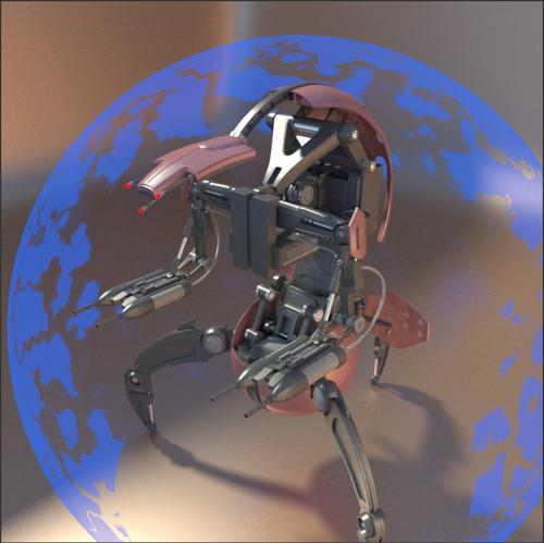 star wars clone wars droideka preview image