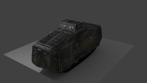A7V Sturmpanzerkampfwagen [WW1 German Tank] preview image