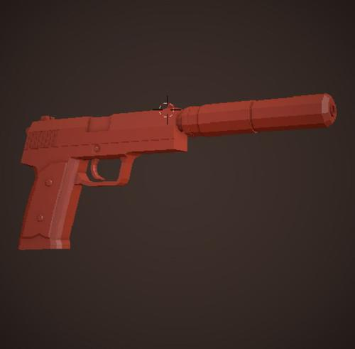 Low Poly USP preview image