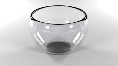 Clear Glass Bowl preview image
