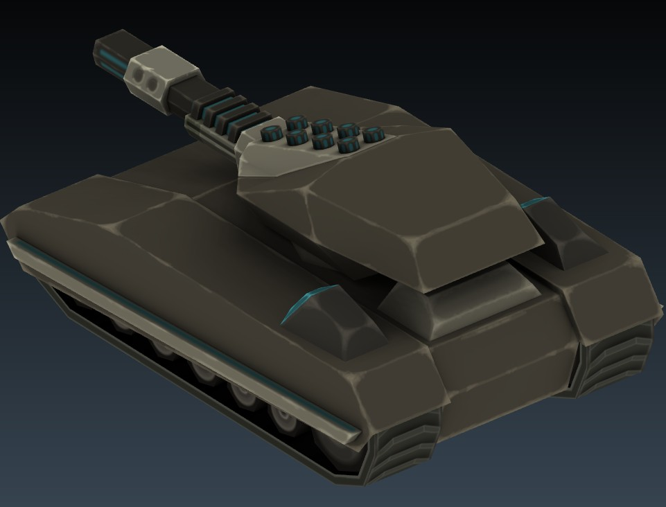 Sci-fi Tank 1 preview image 3