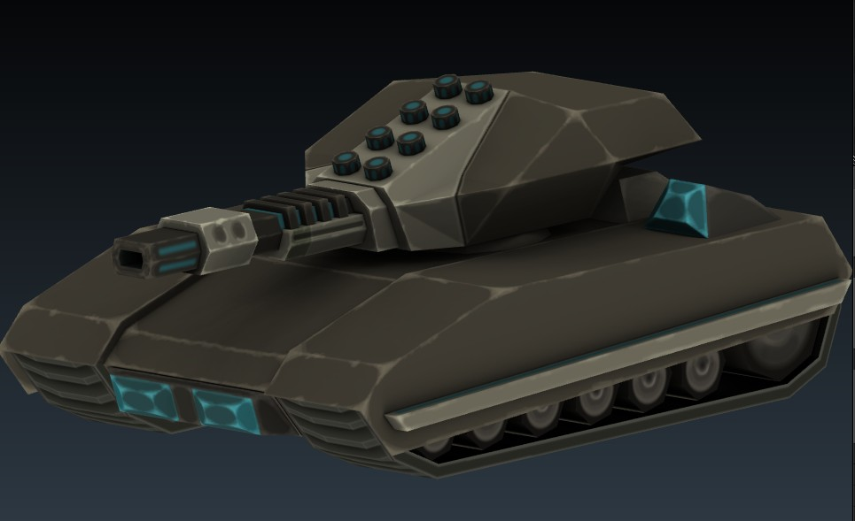 Sci-fi Tank 1 preview image 2