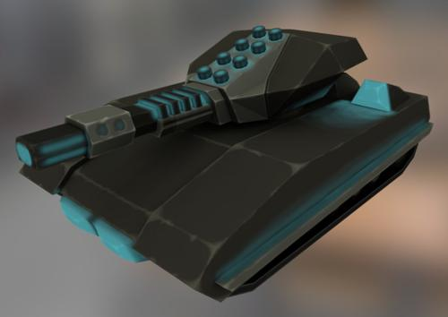Sci-fi Tank 1 preview image
